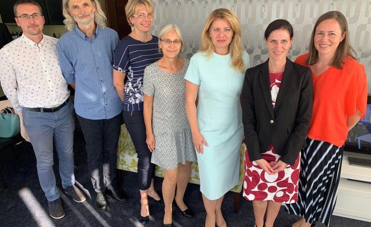 Keď vás navštívi Prezidentka Slovenskej Republiky, je to zároveň pocta aj výzva do ďalšej práce.