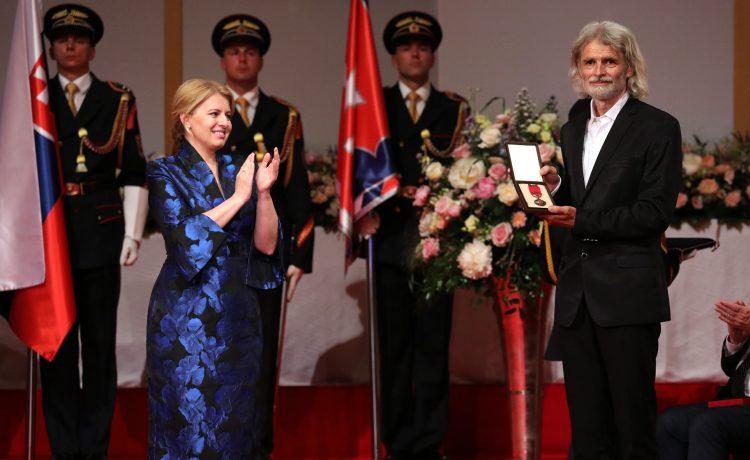 Prezidentka udelila Ivanovi Leitmanovi, zakladateľovi Náruče, štátne vyznamenanie
